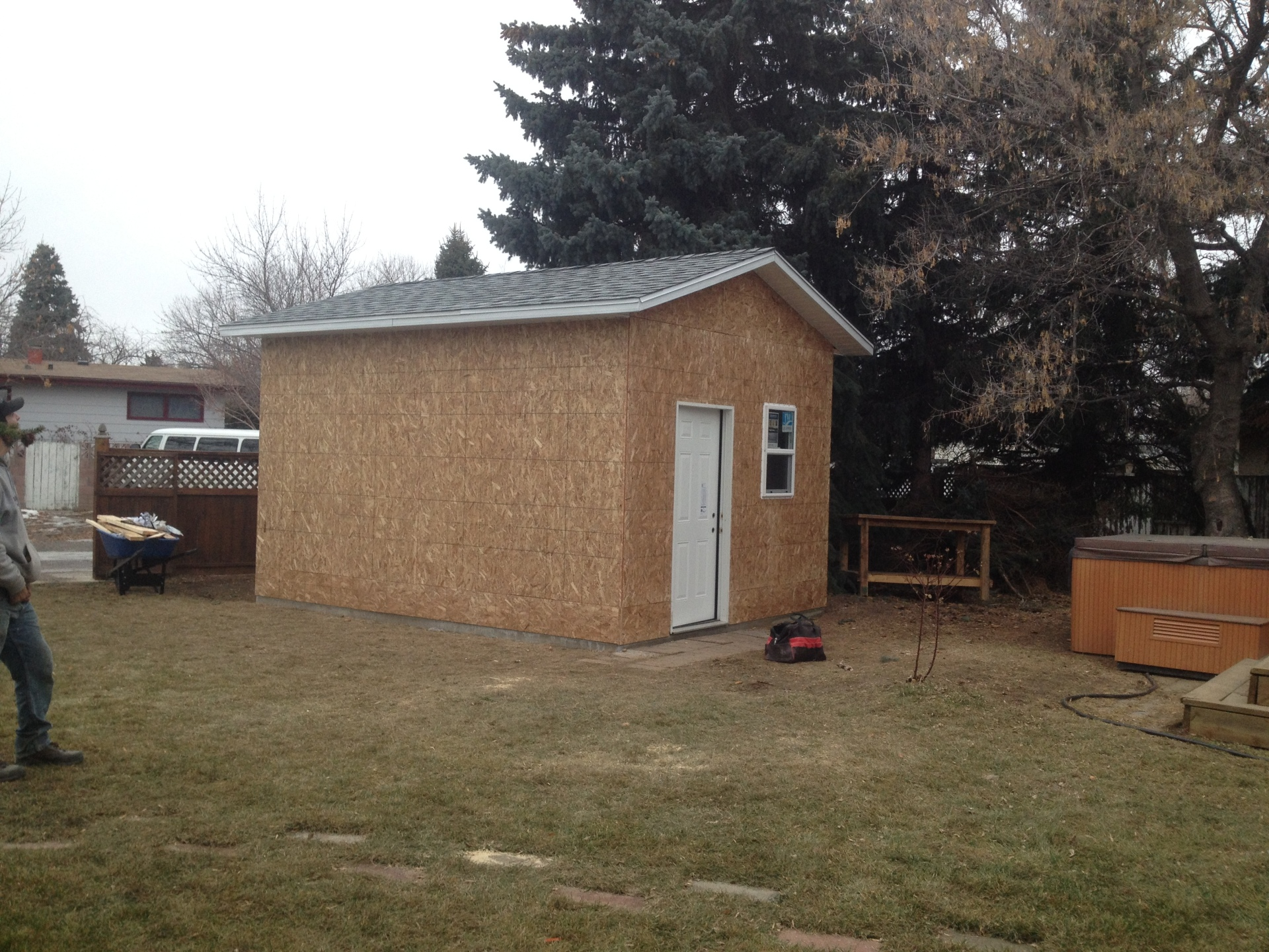 shed build