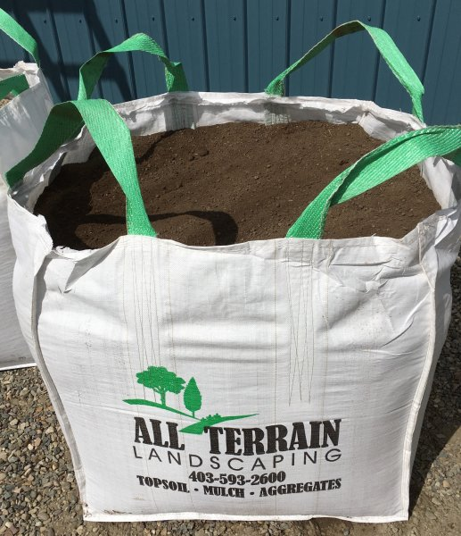 1 cubic yard bag for delivery or pickup